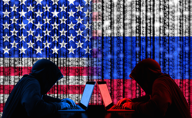 Russian Federation  creates chaos in US