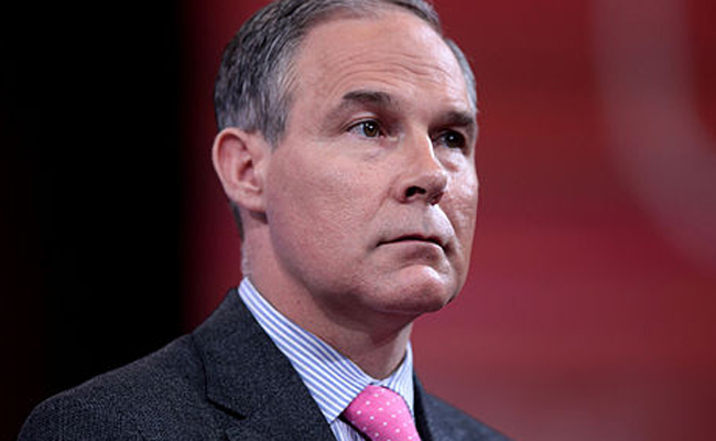 Pruitt says flying coach is under consideration