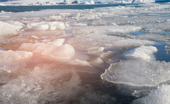 Holes in Arctic Ice a Mystery