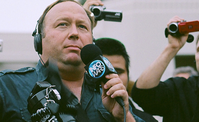 Apple Boots Alex Jones From iTunes For Hate Speech