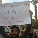 Egypt to Occupy Oakland