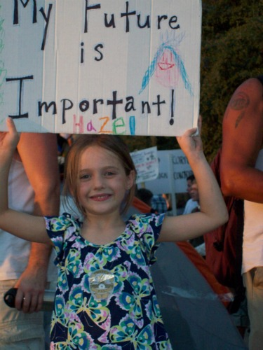 The Children Are Our Future - Occupy Austin