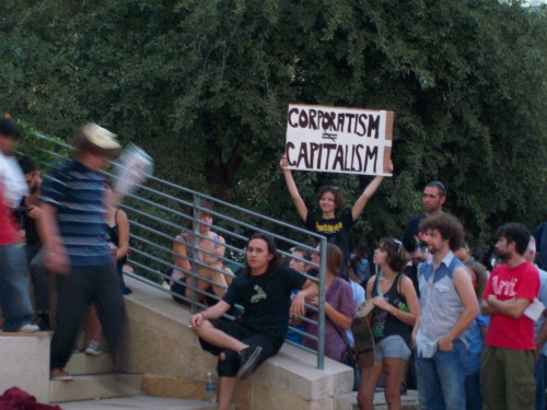 Corporatism vs. Capitalism at Occupy Austin