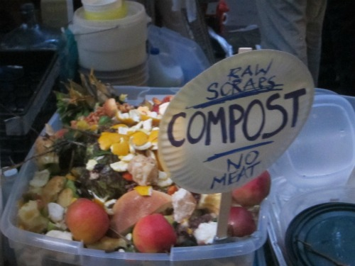 Compost at Zuccotti Park