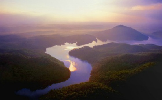 Chilhowee Mtn. by Ron Lowery