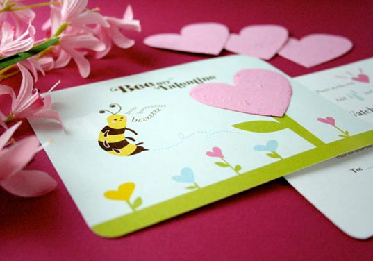 This Year True Love Goes Green How To Have An EcoFriendly – Friendly Valentine Cards