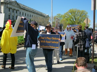 USDA-chicken-protest