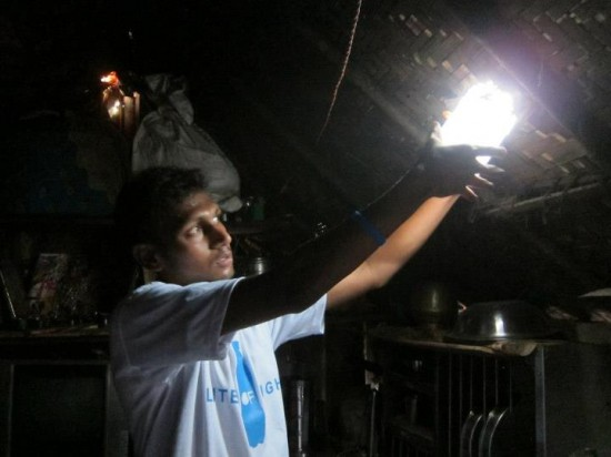 liter of light, solar lamp