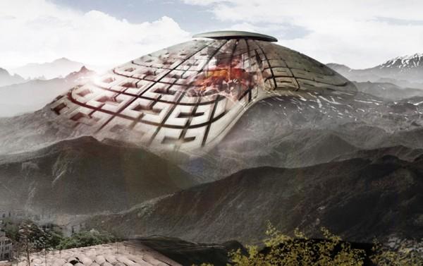 evolo, volcano, skyscraper