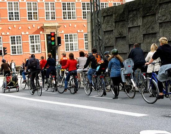 bike rush hour copenhagen