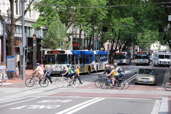 portland bicycling