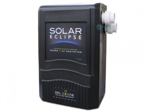 DEL solar eclipse ozone sanitation