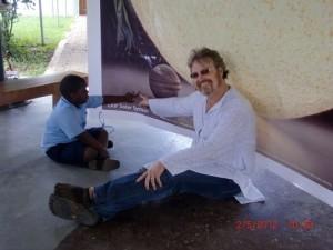Kyle in Ghana