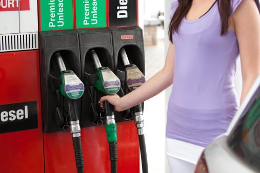ecofriendly car gas pump