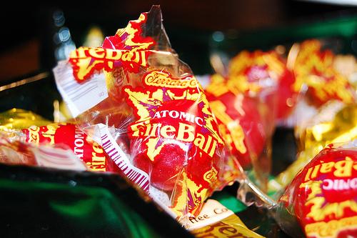 vegan candy fireballs