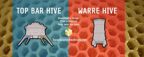 3D printed opensource beehive