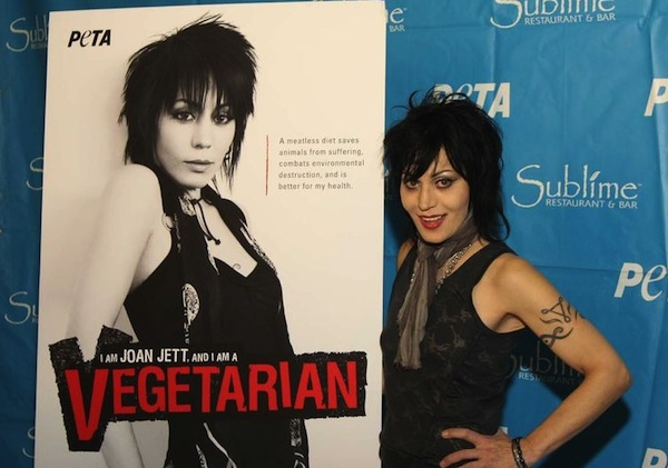 Joan Jett is a staunch animal rights advocate