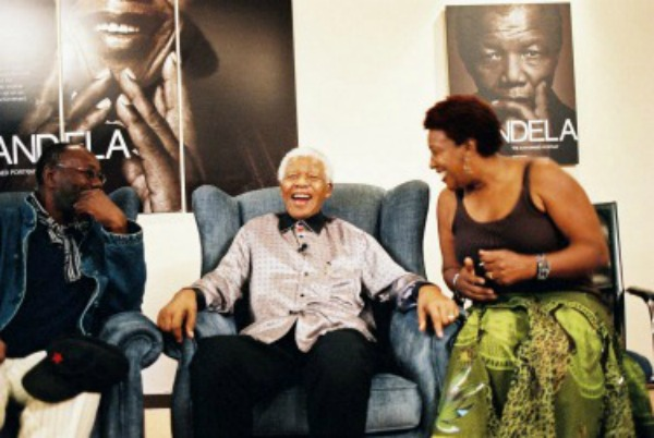 CCH Pounder with Madiba,