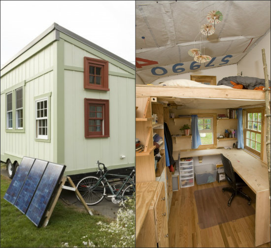 turnbull tiny house collage - Smallest House In The World 2014