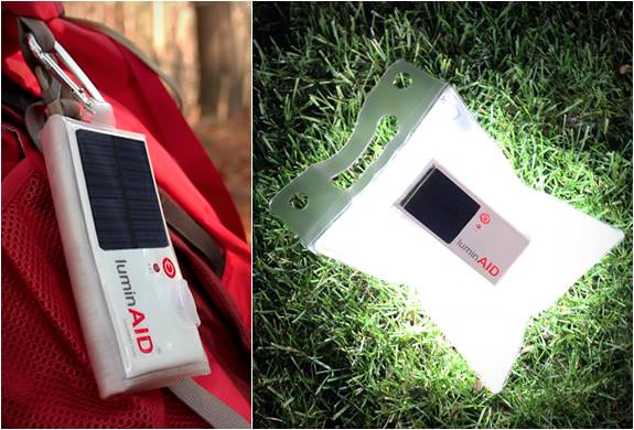 greener camping tips, solar lantern