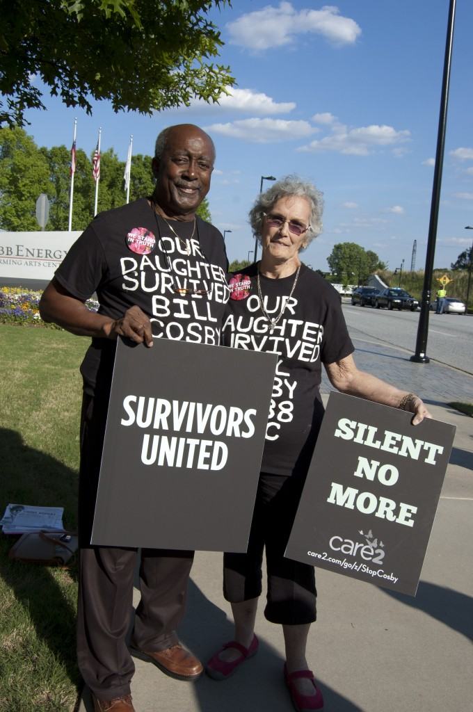 Bill and Judy Thompson, mother of Cosby victim Kaya Thompson