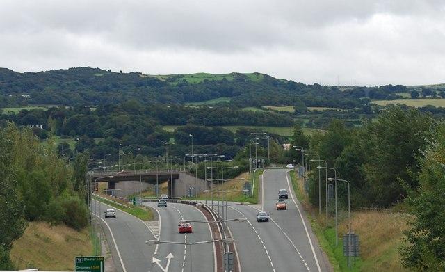 A55 highway