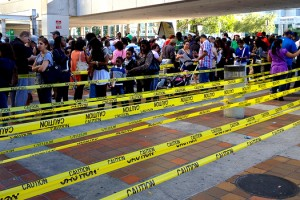 Voting in Miami Photo Credit: Phillip Pessar