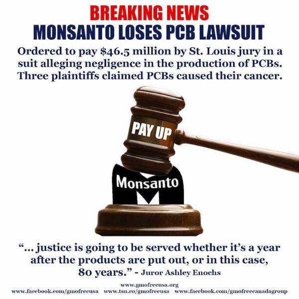Monsanto PCB lawsuit
