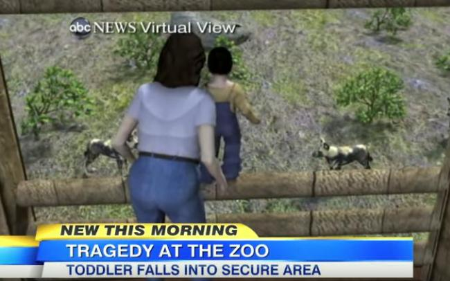 boy falls into African painted lion exhibit at Pittsburgh Zoo