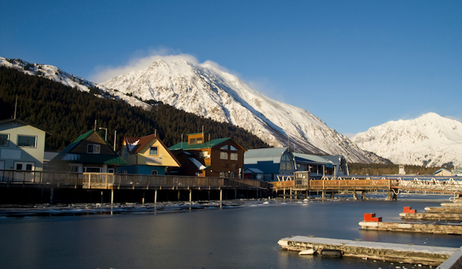 Along Resurrection Bay in Seward, Alaska