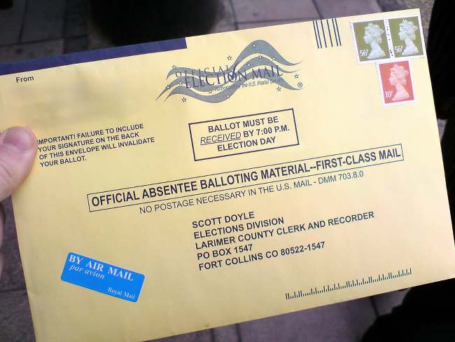 Get Counted: Here's How To Vote Absentee | Care2 Causes