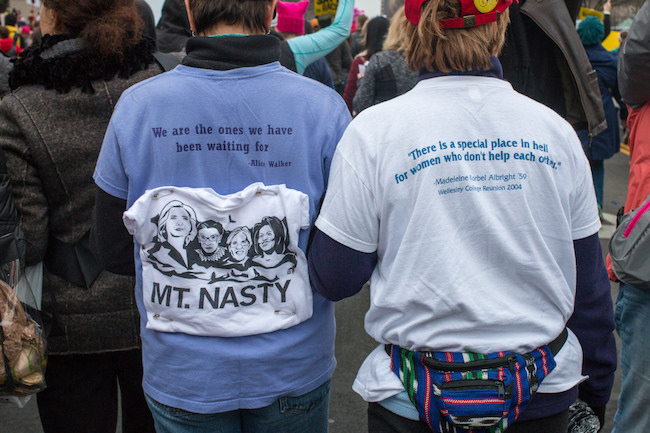 Mt. Nasty |  Washington D.C. Women's March, Liz Lemon via Flickr