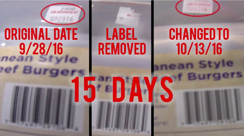 Date labels changed by 15 days