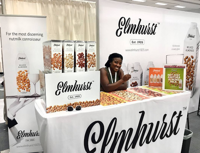 Elmhurst's debut at Natural foods Expo West in March 2017.  Photo credit:  Elmhurst Instagram account