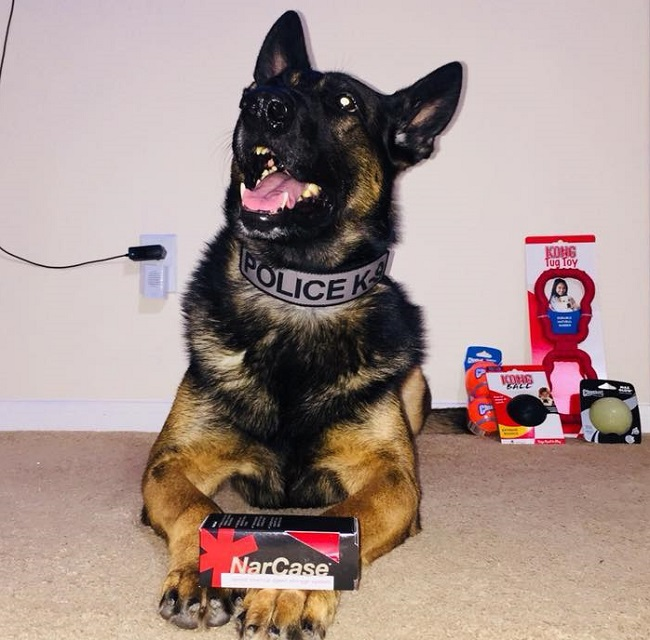 K9s of Valor naloxone kit