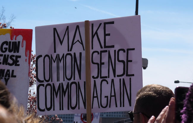 Where has all the common sense gone? - D.C.