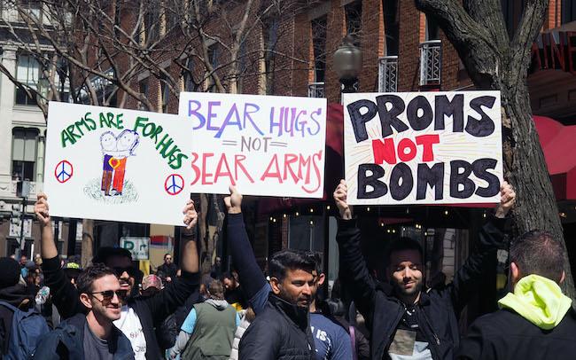 Proms not bombs - D.C.