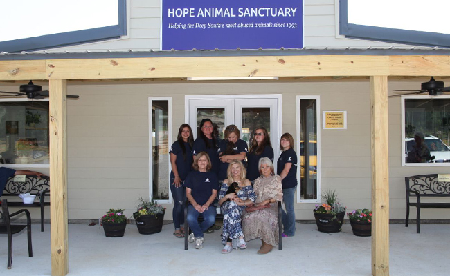 Hope Animal Sanctuary staff