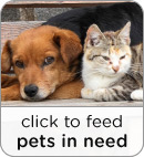 Click to Feed Pets in Need