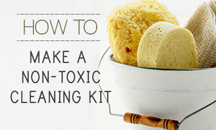 How to Make a Non-Toxic Cleaning Kit
