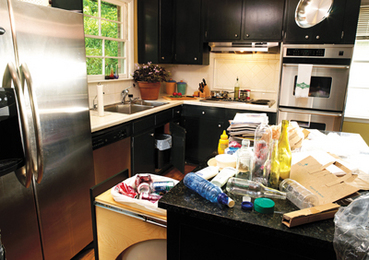 Recycling in a Small Kitchen