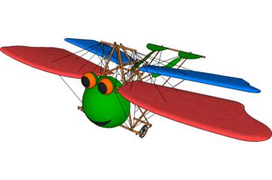 FlutterFrog's First Flight