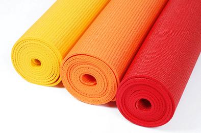 Green Girl's PVC-Free Yoga Mat
