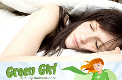 Green Girl Struggles With Sleep