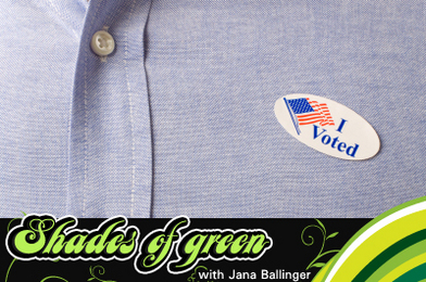 Cast Your Vote for the Earth
