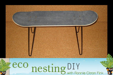 DIY Skate Bench: Extreme Recycling