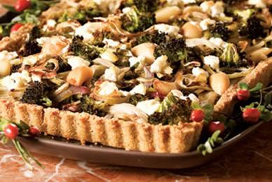 Roasted Vegetable Tart