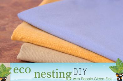 Purge the Paper, Cut the Shirt: DIY Cloth Napkins
