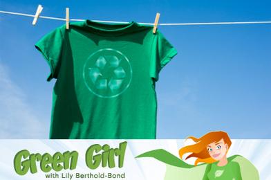 Green Girl Fabricates Fashion