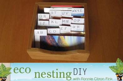 Taming the Junk Drawer: DIY Card Files